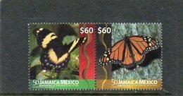 2016  JAMAICA - Butterflies - Butterflies