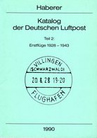 Haberer: Katalog Der Dt. Luftpost Teil 2 - Motivkataloge