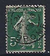 France 1906  Semeuse (o) Yvert 137 - 1903-60 Sower - Ligned