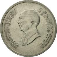 Monnaie, Jordan, Hussein, 5 Piastres, 1993/AH1414, TB, Nickel Plated Steel - Jordanie