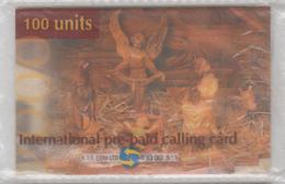 ISRAEL 2000 R.Y.F. COM JESUS CHRIST BIRTHDAY 2 PHONE CARDS SAMPLE - Israele