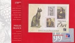 BLOC FEUILLET N° 23 NEUF : LES CHEFS-D'OEUVRE De L'ART / PHILEXFRANCE 1999 (TIMBRES N° 3234 à 3236 ) - Neufs