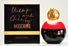 Moschino Cheap And Chic Eau De Toilette Edt 50ML 1.7 Fl. Oz. No Spray Splash Perfume Woman Rare Vintage Old 1995 - Women