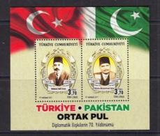 1.- TURKEY 2017 :TURKEY-PAKISTAN JOINT ISSUE - Nuevos