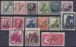 ESPAÑA/MARRUECOS 1933/38 - Edifil #70/84 - VFU - Spaans-Marokko