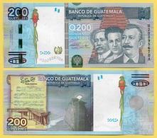 Guatemala 200 Quetzales P-120 2009 UNC - Guatemala