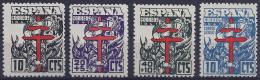 ESPAÑA 1941 - Edifil #948/51 - MLH * - 1931-50 Nuovi