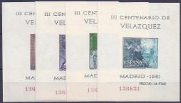 ESPAÑA 1952 - Edifil #1344/47 - MNH ** - 1961-70 Nuevos & Fijasellos