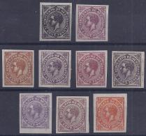 ESPAÑA 1876 - Edifil # 183 - MLH* (Pruebas De Color) - 1875-1882 Reino: Alfonso XII