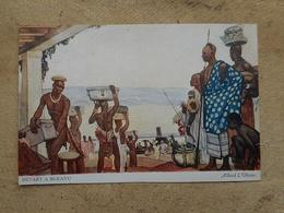 CPA DEPART A BUKAVU ALARD L OLIVIER EXPOSITION COLONIALE PARIS 1931 - Congo Belge - Autres