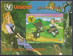 INFANCIA - GUINEA ECUATORIAL 1979 - VFU - Muñecas