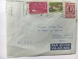 8005 - Lettre Du Vietnam Pour La Suisse - Viêt-Nam