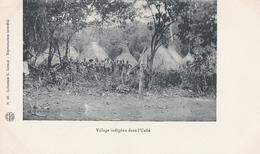 CONGO  Village Indigène Dans  L ' UELLEE - Congo Français - Autres
