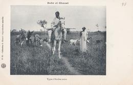 CONGO   BAHR El GHAZAL  Types D'arabes Noirs  ( Plans Animés ) - Congo Francese - Altri