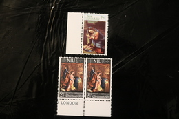 Niue 3 Stamps Christmas Issues MNH A04s - Niue