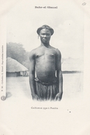 CONGO   BAHR El GHAZAL  Coiffure Et Type à PAMBIA  ( Plan  Animé ) - Congo Français - Autres