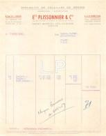 14-0786   1959 SPECIALITE DE VOLAILLES DE BRESSE ETS PLISSIONNIER A SAINT MARCEL LES CHALONS - M. MATHEY A CHAGNY - France