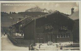 Wildhaus. Zwinglihütte A. Schafberg.  Used Card 1929. Switzerland. S-4444 - Unclassified