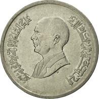 Monnaie, Jordan, Hussein, 5 Piastres, 1993/AH1414, TB+, Nickel Plated Steel - Jordanie
