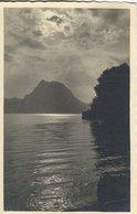 Castagnola. Abendstimmung Am See.  Card Used Lugano 1934   Switzerland. S-4460 - Unclassified