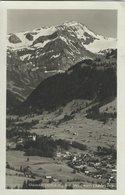 Gstaad Mit Wildhorn.  Card Used 1930   Switzerland. S-4461 - Unclassified