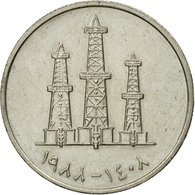 Monnaie, United Arab Emirates, 50 Fils, 1988/AH1408, British Royal Mint, TTB - Emirats Arabes Unis