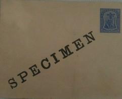 O) 1903 MONTSERRAT, SPECIMENT POSTAL STATIONERY, SYMBOL OF THE COLONY, XF - Montserrat