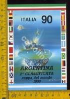Calcio Mondiali Italia 90 Argentina - Football