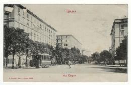 Genova Via Corsica Tram Modiano - Genova (Genoa)
