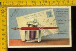 Francobolli Intero Postale Michetti - Poste & Postini