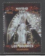 PERU, 2016, MNH, CHRISTMAS, VIRGEN DE LOS DOLORES, 1v - Kerstmis