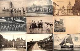 Belgique - Belle Sélection 82 Cartes (Jodoigne Heyst Aalst Mont De L'Enclus Hasselt Wavre ...Marcovici Belga Phot) - Postcards
