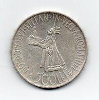 Romania - 1941 - 500 Lei - Argento - (MW1569) - Romania