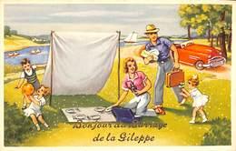 Bonjour Du Barrage De La Gileppe (animée, Oldtimer, Pique-nique) - Gileppe (Barrage)