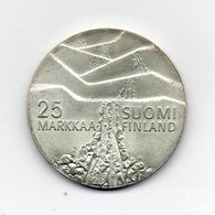 FINLANDIA - 1978 - 25 Markkaa - Argento - (MW1570) - Finlandia