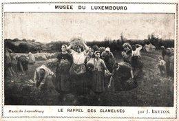 CHROMO MUSEE DU LUXEMBOURG LE RAPPEL DES GLANEUSES CHOCOLAT RATIONNEL DES PHARMACIENS FRANCAIS - Chocolat