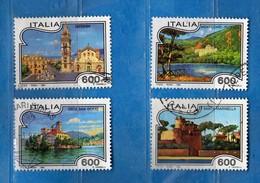 Italia °-1994-TURISTICA - MESSINA- MONTICCHIO-ORTA-SANTA MARINELLA. SERIE.   Usato.  Vedi Descrizione. - 6. 1946-.. Republik