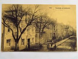 C.P.A. : Rhenanie Palatinat : IDAR : Hauptstrasse Mit Schützenhof, In 1919 - Idar Oberstein