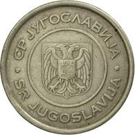 Monnaie, Yougoslavie, 5 Dinara, 2000, Belgrade, TTB, Copper-Nickel-Zinc, KM:182 - Yougoslavie