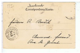 CPA-1900-GRUSS AUS BRÜR-EICHH ORNGASSE-ANIMEE--UN RESTAURANT A DROITE- - Germany