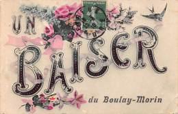 27 . N° 45747 . Boulay-morin . Un Baiser . En L Etat - France