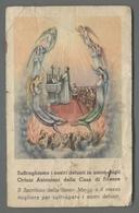 ES5170 SS. Sacramento COMUNIONE SUFFRAGIO AI NOSTRI DEFUNTI ETERNO RIPOSO DISCRETO Santino - Religione & Esoterismo