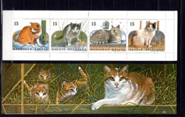 1993 Belgium - Domestic Cats - Booklet - MNH** - MI MH 35 (hj18) - Ungebraucht