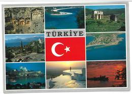 Turchia Türkiye 8 Vedute Viaggiata 1992 - Turchia