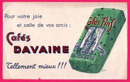 BUVARD - Cafés DAVAINE - Lecelles - DELA - Coffee & Tea