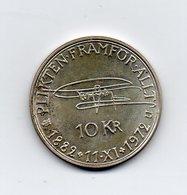SVEZIA - 1972 - 10 Corone - Argento - (MW1574) - Svezia