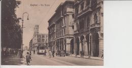 Cagliari Via Roma Filobus Animata - Cagliari
