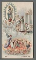 ES5175 SS. Sacramento COMUNIONE NOSTRA SIGNORA DEL SUFFRAGIO PER ANIME PURGANTI V. RUSSO Santino - Religione & Esoterismo