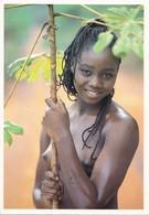 Photo Uwe Ommer 1021 -  Jeune Fille Seins Nus - - Ivory Coast
