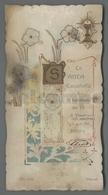 ES5177 SS. Sacramento COMUNIONE LA SANTA EUCARESTIA FUSTELLATO DISCRETO RICORDINO BITONTO Santino - Religione & Esoterismo